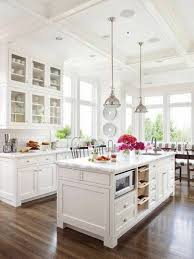 Kitchen. L Shape Kitchen Decorating Using Round Chrome Stainless Steel Dome Mini  Pendant Light Over