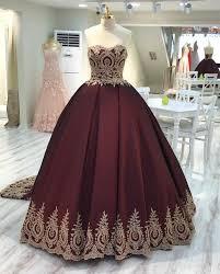 wine red wedding. Wine Red Wedding Dressburgundy Wedding Gownsball Gown Wedding