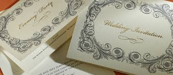 Baroque Wedding Invitations Baroque Personalised Wedding Invitations The Letter Press