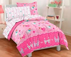 girls twin sheet set excellent pink magical princess fairy bedding for little girls twin