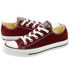 converse womens shoes. converse all star chuck taylor ox 139794f burgundy women shoes *no box womens