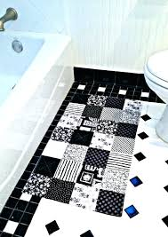 black and white bathroom accessories sets bath rug coffee in a box target
