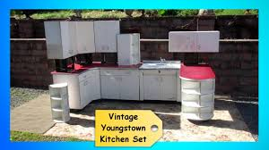 vine 1950s retro youngstown kitchen set cabinets cupboards