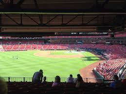 Breakdown Of The Busch Stadium Seating Chart St Louis