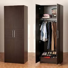 facebook twitter google wooden wardrobe