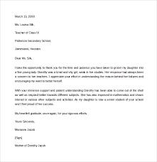 Teacher Recommendation Resumes Floridaframeandart Com Stunning Cv Thank You Letter Thank You