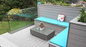 take a seat with a deck bench from deckplus