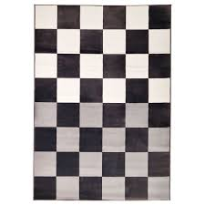 inspiring black and white area rug montauk striped contemporary by