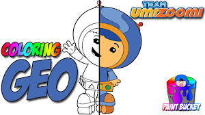 Small Picture How to Color Team Umizoomi Geo Coloring Page Nickelodeon Nick Jr