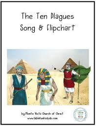 Bible Fun For Kids Moses The 10 Plagues Song Flipchart