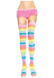 Teen thigh high socks