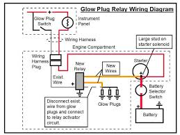 suitable relay for glow plug circuit m 25 sailboatowners com forums manual glow plug switch 7.3 powerstroke at Glow Plug Wiring Diagram