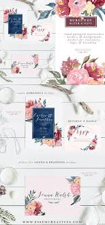 5x7 border template watercolor wedding invitation template backgrounds borders