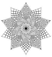 Mandala A Colorier Adulte Difficile 23 Mandalas Difficiles Pour
