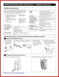 wiring diagram for motion sensor lights outdoor lamp post wiring inspiration of