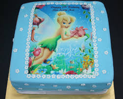Tinkerbell Cake For Sin Suan Xins 5th Birthday Jocakes