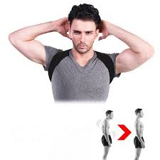 Yosoo New <b>Spine Posture Corrector Protection</b> Back Shoulder ...