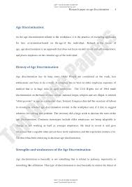 age discrimination academic essay assignment topgradepapers c  topgradepapers com 3