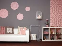 decor ideas in pink and silver grey