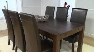 dark wood furniture large verona oak dining table  youtube