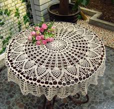 table doilies. amazon.com: new beige 36\u0027\u0027 round handmade crochet sunflower lace table cloth doily n06: home \u0026 kitchen doilies s
