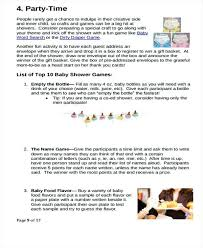 Baby Shower Party To Do List Template Guest Free Mediaschool Info