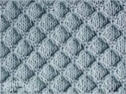 Knitting Stitches Patterns New Diamond Honeycomb Knitting Stitch Patterns