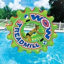 pool water with float. Aqua Treadmill Island Pool Float Water With