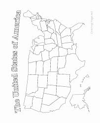 North America Map Coloring Page Inspirational Coloring 10 Like Blank