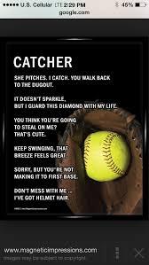 Softball Softball Catcher Pinterest Softball Softball Classy Pinterest Softball Quotes