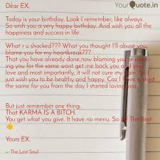 Quotes About Your Ex Fascinating Dear EX Today Is Your B Quotes Writings By Radhika Mantri