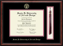 santa fe university of art and design tassel edition diploma frame  santa fe university of art and design tassel edition diploma frame in southport item 253779
