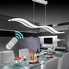 contemporary pendant lighting fixtures. Create For Life Modern Wave LED Pendant Light Dimmable Fixture Ceiling Chandelier Hanging Contemporary Lighting Fixtures L
