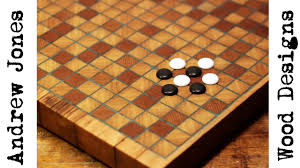 Wooden Othello Board Game Making a wood and resin go board YouTube 99