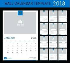 Program Calendar Template Wall Vector Material Training Schedule ...