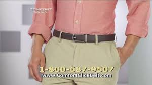 Tv Commercial Proposal Sample Comfort Click Belt Tv Commercial Just Right Ispot Tv
