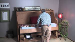 Convertible Desk Bed Convertible Bed Desk Combo Youtube