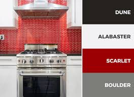 captivating kitchen color schemes new colors appliances red black and white next home accessories design cabinet
