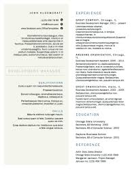 Columnist Resume 2 Two Column Resume Template Columnist Resume 24 Beautiful Resume 1