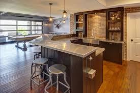 Fresh Modern Simple Basement Wet Bar Decoration GSB - Simple basement bars