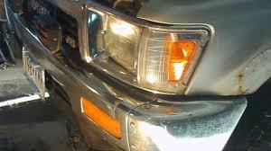 1991 Toyota Pickup Corner Light Headlight Replacement 1989 Toyota Pickup