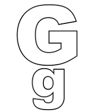 letter g top 25 free printable letter g coloring pages online