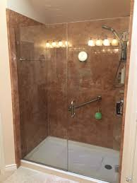 convert shower to tub diy steps into gl block walk in conversion kit home depot rod