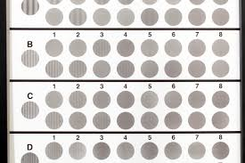 clinical researchers mere contrast sensitivity by showing patients optotypes standardized symbols for testing vision that represent many binations