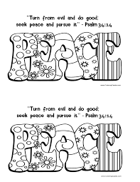 September 30 2013 Psalm 34 14 Coloring Page Fruit Of The Spirit