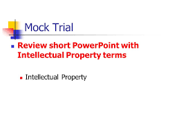 criminal law criminal procedure chapter ppt video online  31 mock trial review short powerpoint intellectual property terms