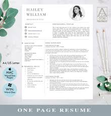 Simple Resume Tips Modern Resume Template With Pictures Simple Resume In White Gray Clean Resume