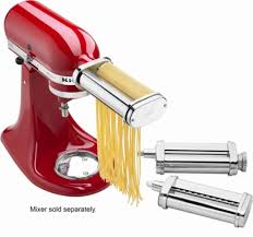 kitchenaid mixer attachments slicer. kitchenaid - ksmpra pasta roller attachments for most stand mixers stainless-steel kitchenaid mixer slicer