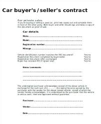 Sale Of Car Contract Used Car Sale Agreement Template South Africa Sale Of Motor Vehicle