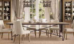 rooms restoration hardware flash lals tufted dining chairs